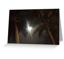 The Palms of Dunk Greeting Card