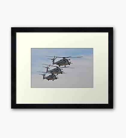 CH-53E Super Stallion Framed Print