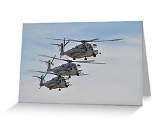 CH-53E Super Stallion Greeting Card