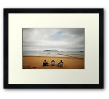 Undeterred Framed Print