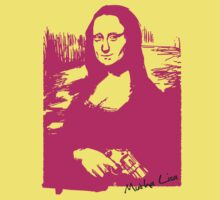 MUTHA LISA by Awesome Rave T-Shirts