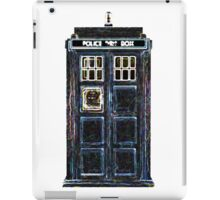 Stylized Police Box iPad Case/Skin