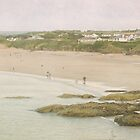 A view over Harlyn bay by Lissywitch