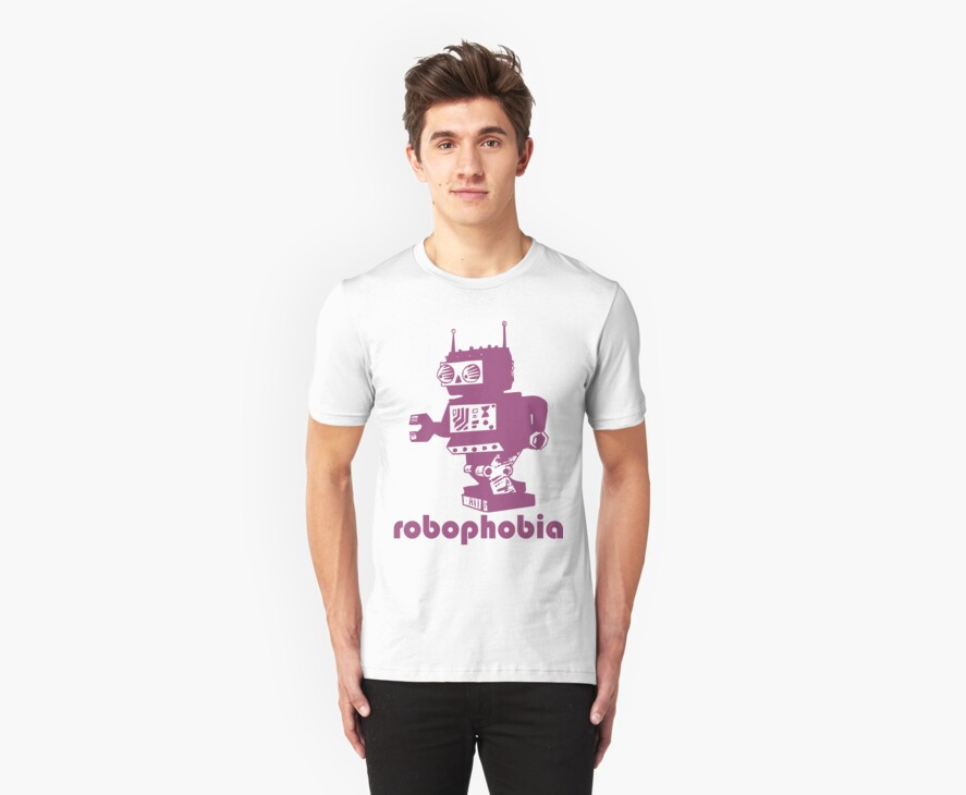 ROBOPHOBIA by Awesome Rave T-Shirts