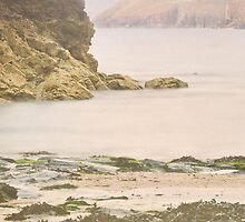 Dusk at Harlyn bay by Lissywitch