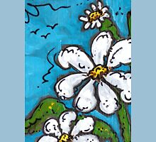 Daisies, Such a happy flower! Womens Fitted T-Shirt