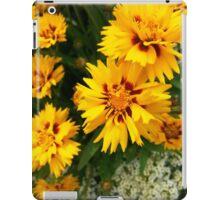 Coreopsis and Sweet Alyssum iPad Case/Skin