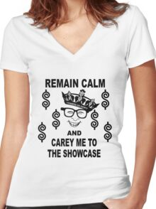Price Is Right Novelty - Showcase Women's Fitted V-Neck T-Shirt