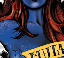 Mutant & Proud Sticker