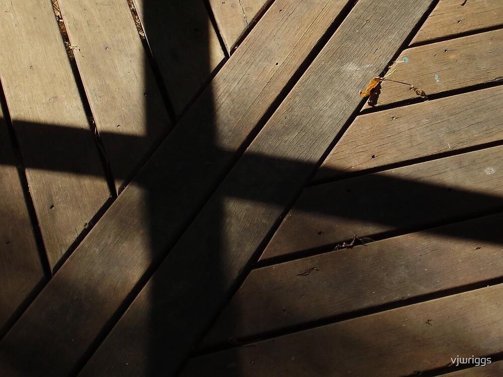 Wooden Cross by vjwriggs
