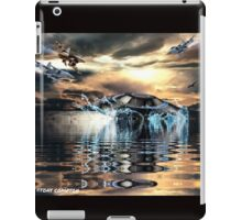 TO THE DEEP ~ NO ENTRY  iPad Case/Skin