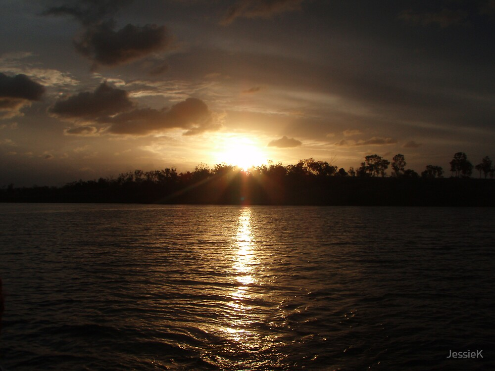 Lake Awoonga Sunset by JessieK