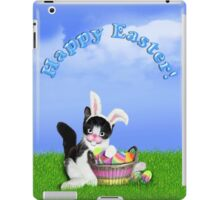 Cute Easter Kitty iPad Case/Skin