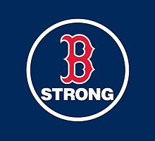 Boston Strong Red Sox by dfount7