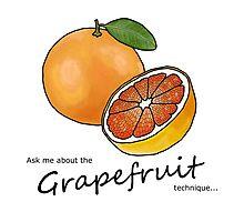 The Grapefruit Technique Photographic Print