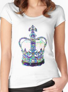 King's Crown Women's Fitted Scoop T-Shirt