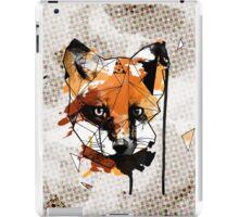 Geometric Watercolor Fox iPad Case/Skin
