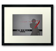 Metal Gear Rising - Revengeance - Raiden Framed Print