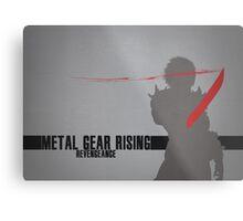 Metal Gear Rising - Revengeance - Raiden Metal Print
