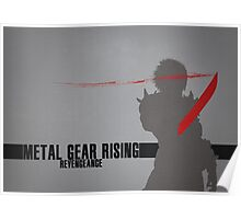 Metal Gear Rising - Revengeance - Raiden Poster