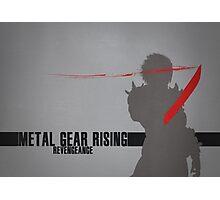 Metal Gear Rising - Revengeance - Raiden Photographic Print