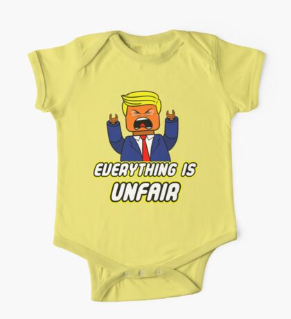 Everything Is Unfair One Piece - Short Sleeve