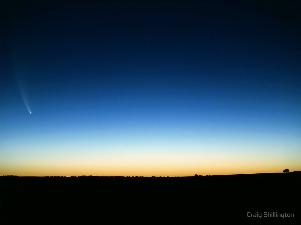 The McNaught Comet by Craig Shillington