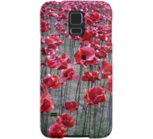 Poppies At The Tower Of London Samsung Galaxy Case/Skin