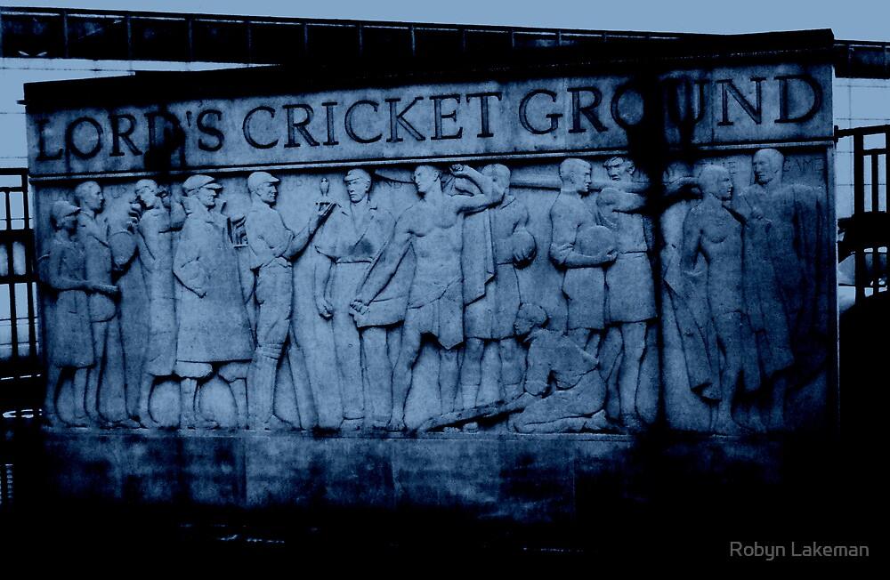 Lord's Cricket Ground, England by Robyn Lakeman