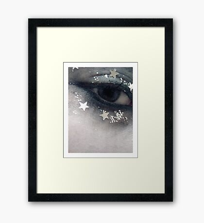 dreaming of cold Framed Print