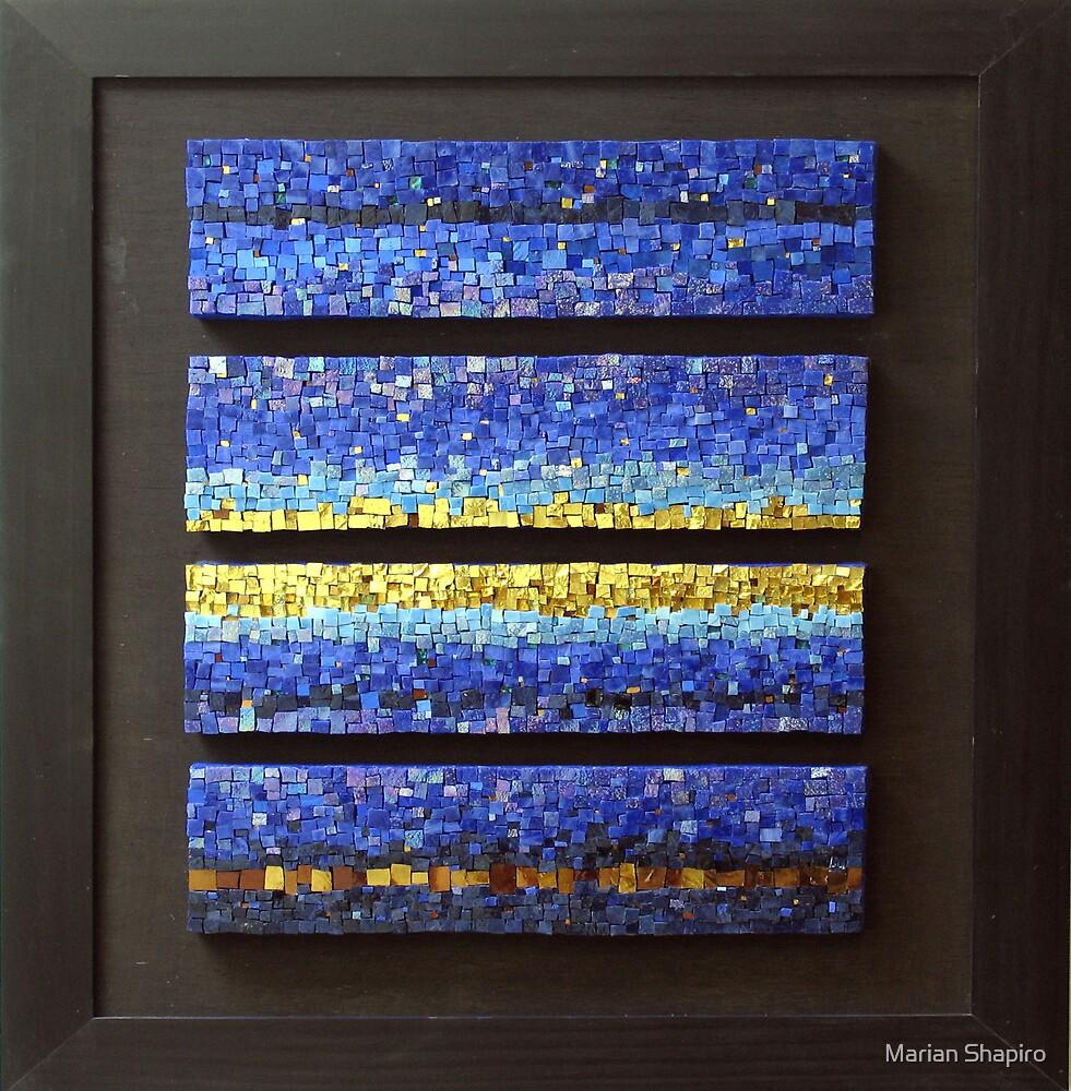 Blues Quartet by Marian Shapiro