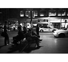Winter's night Photographic Print