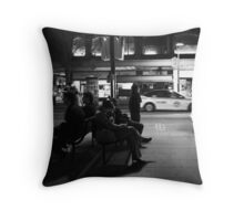 Winter's night Throw Pillow