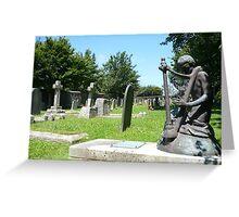 Stratton Church Yard Greeting Card