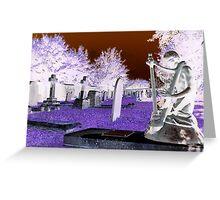 Stratton Grave Yard Greeting Card