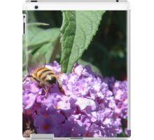 Excellent Detail Bee on Buddleia iPad Case/Skin