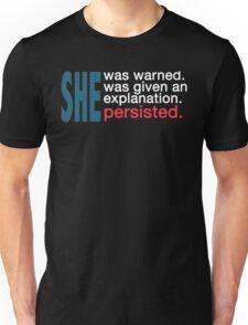 Nevertheless She Persisted Shirts, Hoodies, Tshirts Unisex T-Shirt