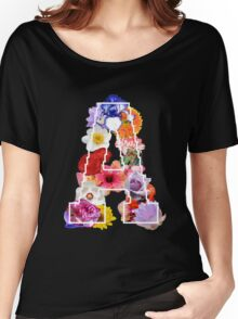 The Letter A Women's Relaxed Fit T-Shirt