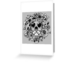 Binding of Isaac Two Tone Greeting Card