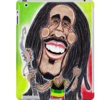 Reggae Rasta Jamaican Caricature Drawing iPad Case/Skin