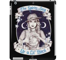 Mystic Miss Maggie Esmerelda (b&w) iPad Case/Skin