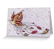 Hummerfly Greeting Card
