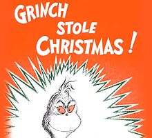 How the Grinch Stole Christmas Book Cover by rbx11