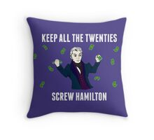 Keep All The Twenties Throw Pillow