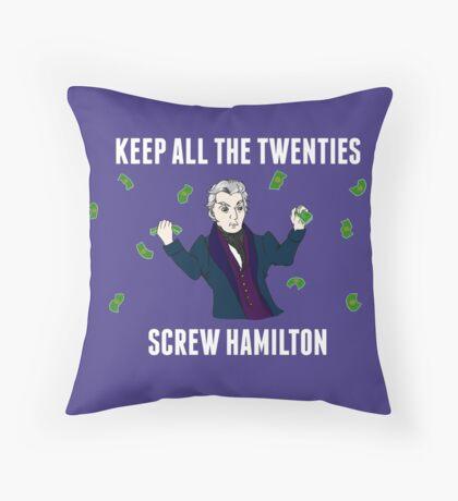 Keep All The Twenties Throw Pillow