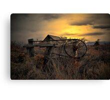 The Old Gate ~ Summer Lake Barn ~ Canvas Print