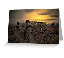 The Old Gate ~ Summer Lake Barn ~ Greeting Card