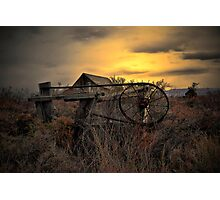 The Old Gate ~ Summer Lake Barn ~ Photographic Print