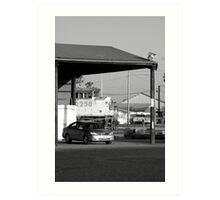 Train, bus, auto Art Print