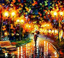 Touch Of The Rain — Buy Now Link - www.etsy.com/listing/210311449 by Leonid  Afremov